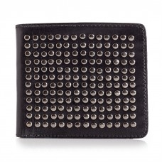 Mens Cool Studded Leather Wallet