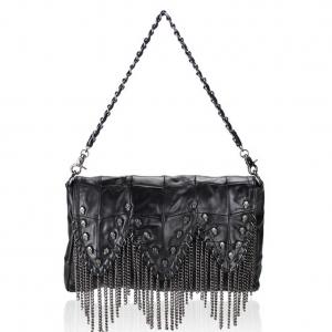 Skull Handbag Black