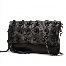 Rock Bag Leather Petals