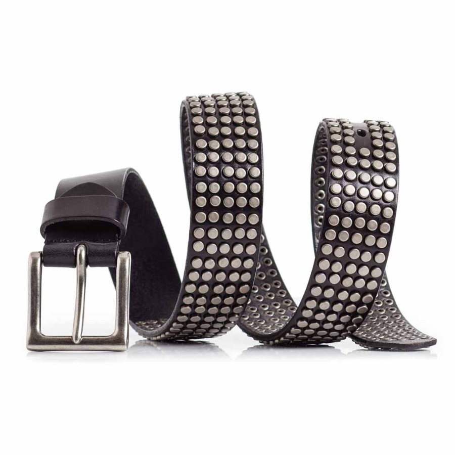 Super Cool Leather Belt with Studs