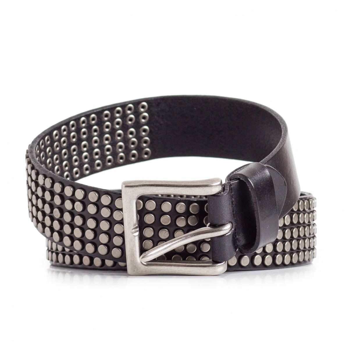 studded belt super cool black sizes 30 44in laticci