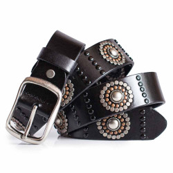 Womens Black Jeans Belt