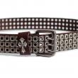 Brown Biker Belt