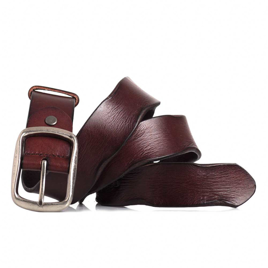 Brown Leather Work Belt Belt