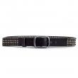 Mens Black Spiked Belt