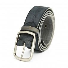 Grey Leather Belt