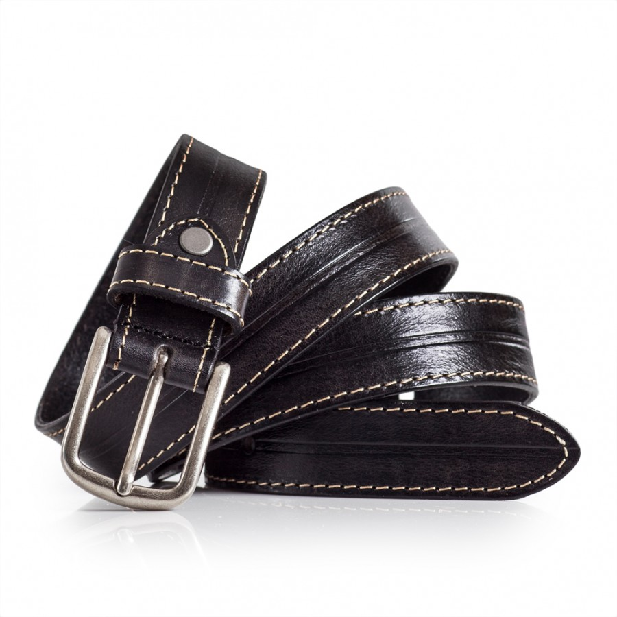 Black Leather Belt Womens Sizes 28-40in