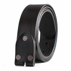 Mens Leather Belt Strap without Buckle