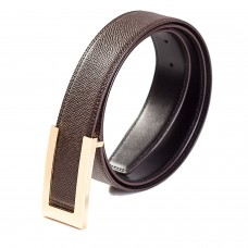 Mens Reversible Belt Coated Texture Leather