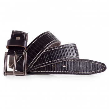 Casual Belt for Men Cowhide Leather