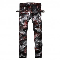 Rockstar Jeans Multicolor Print