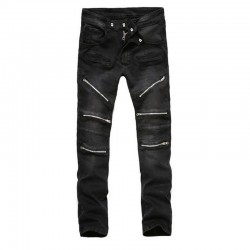 Moto Jeans Black