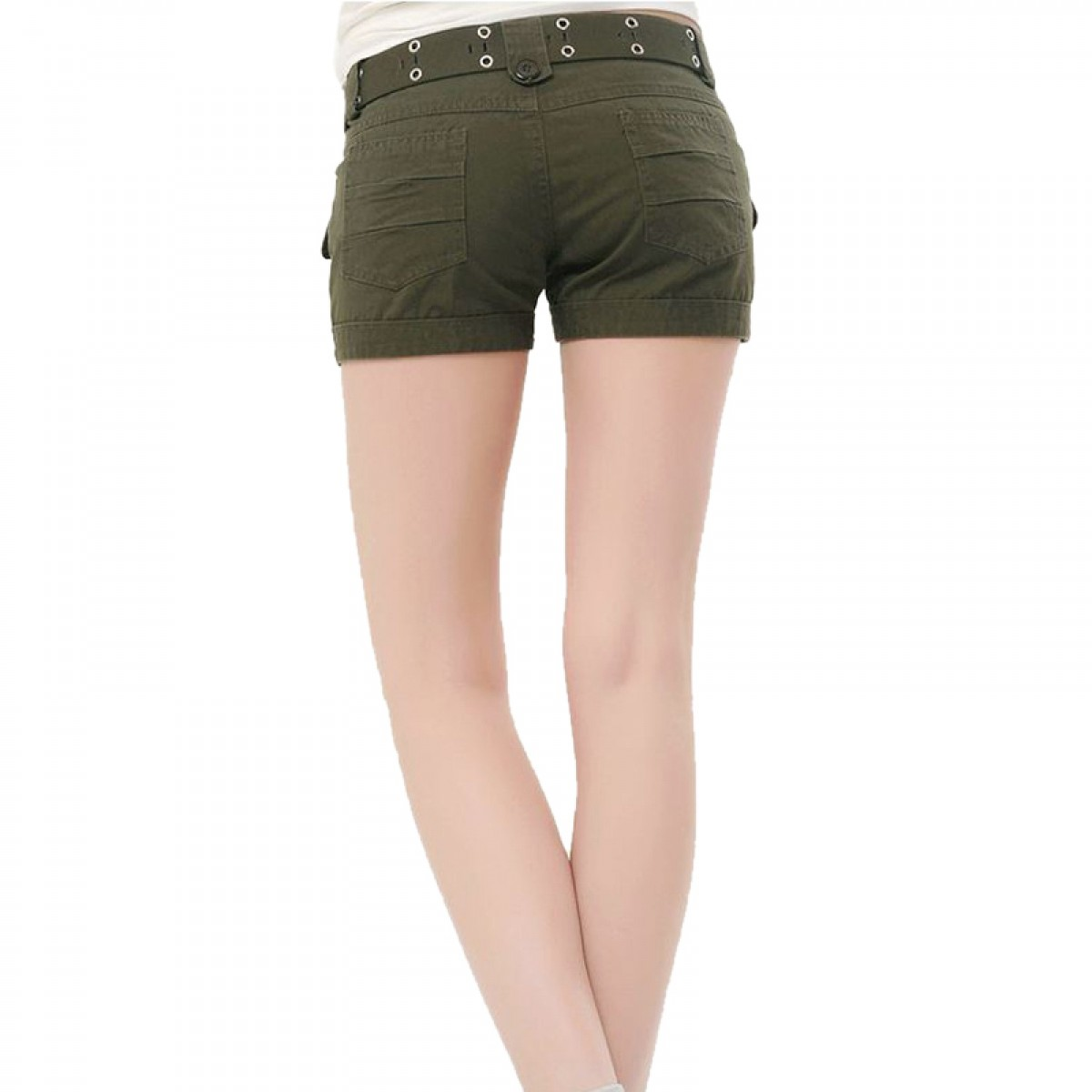 Khaki Cargo Shorts For Women | www.pixshark.com - Images Galleries With A Bite!