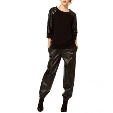 Leather Joggers For Women
