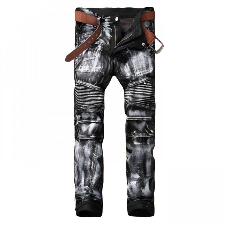 Silver Jeans Biker Detail
