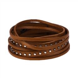Studded Tassle Cuff Bracelet