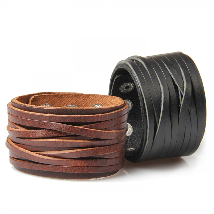 Tassle Leather Bracelet