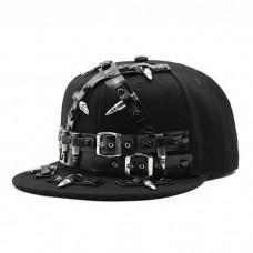 Cool Punk Cap Black Denim