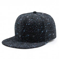 Galaxy Print Flat Cap Grunge
