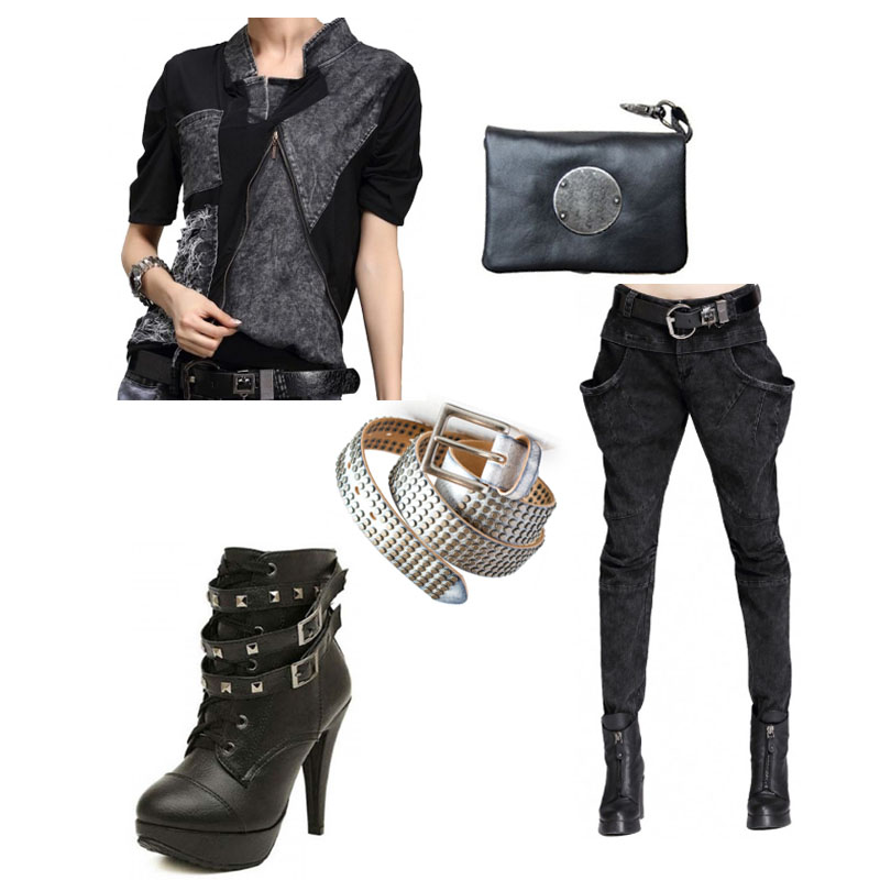 Rock Chick Outfit Botties and Pants