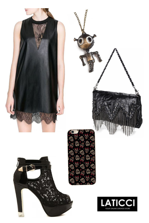 Womens Punk Party Outfit