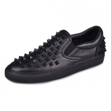 Studded Sneakers Black