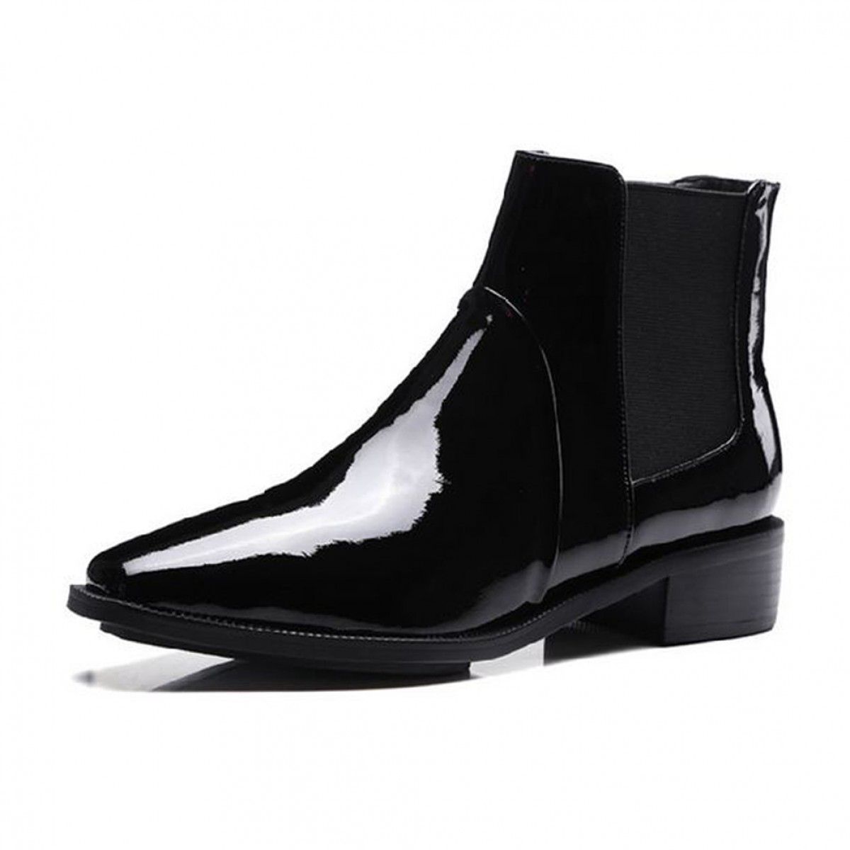 Patent Leather Ankle Boots LATICCI