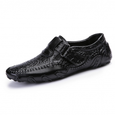 Driver Loafers Alligator Imprint