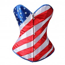 American Flag Corset