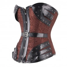 Cosplay Corset Brown