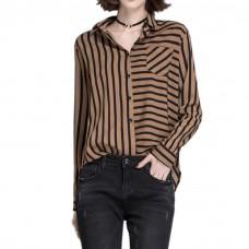 Womens Shirt Vertical Stripes