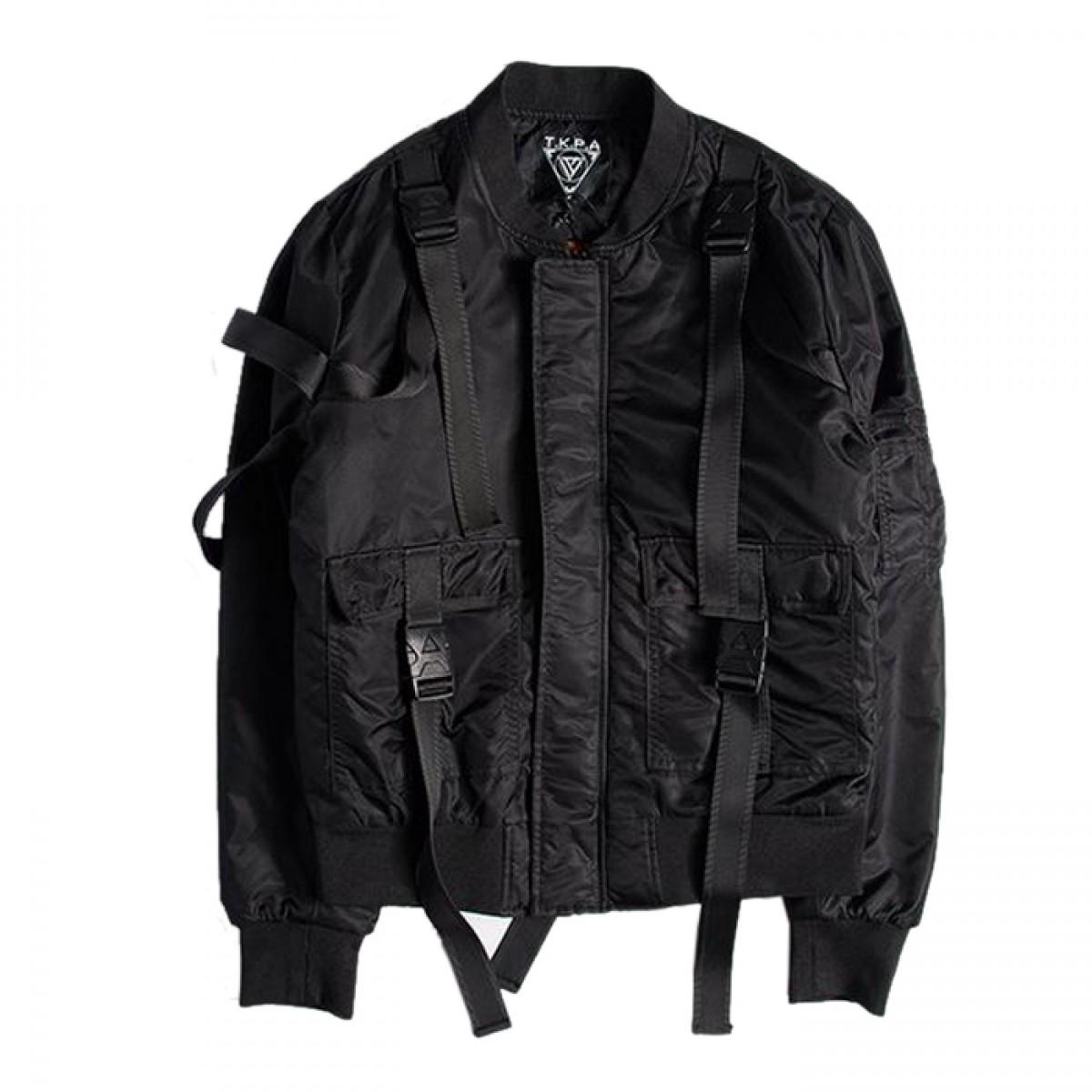 Black Bomber Jacket Womens