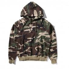 Cool Camo Hoodie Oversized Hood
