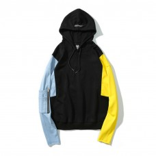 Cool Hoodie Color Sleeves